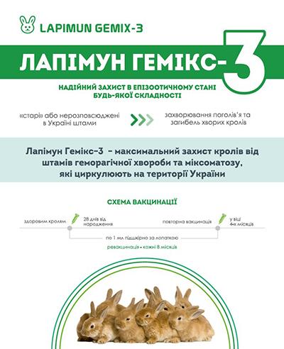 Презентация новых вакцин для кроликов: Лапимун Гем-2 и Лапимун Гемикс-3